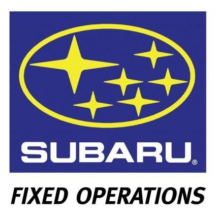 Subaru fixed operations