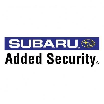 Subaru added security