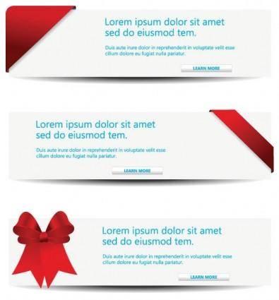 free vector Vector decorative content page headlines 1