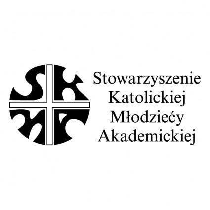 free vector Stowarzyszenie katolickiej mlodziezy akademickiej