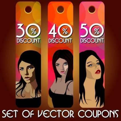 free vector Fashion label 05 vector