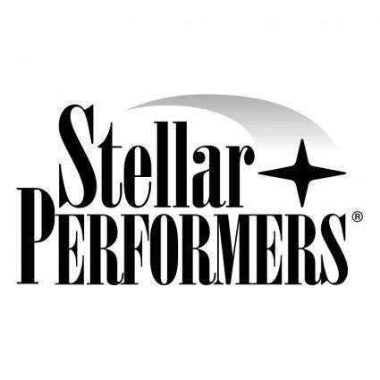 Stellar performers 1