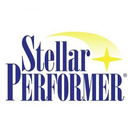 free vector Stellar performer