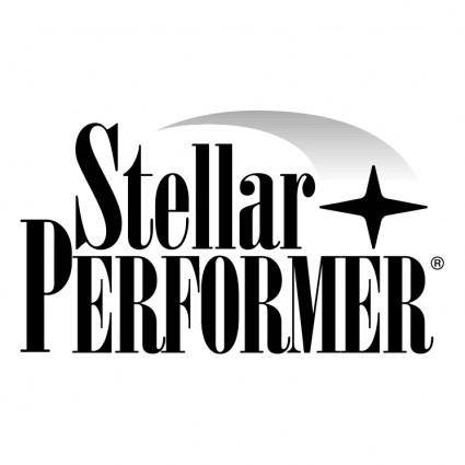 free vector Stellar performer 1