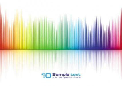 Brilliant vibrant colors 02 vector