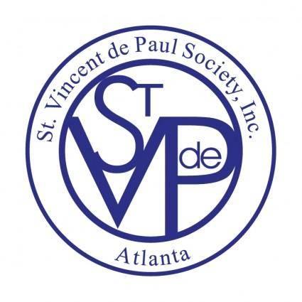 free vector St vincent de paul society
