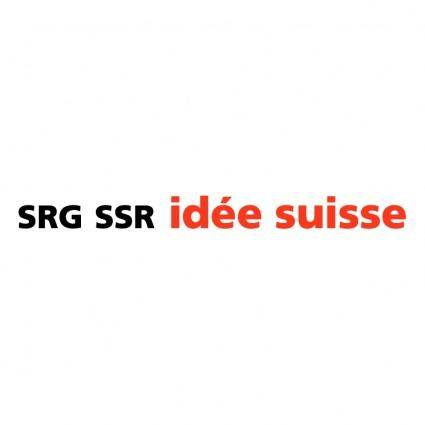 free vector Srg ssr idee suisse 5