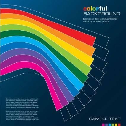 Color line 05 vector