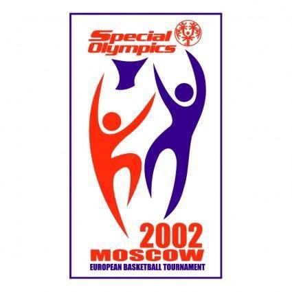 free vector Special olympics european basketball tournament