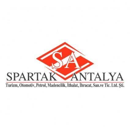free vector Spartak antalya