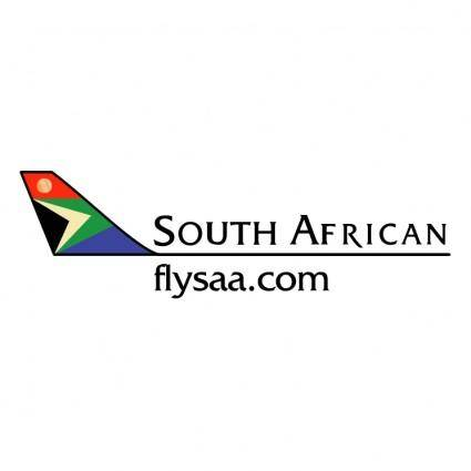 free vector South african airways 2