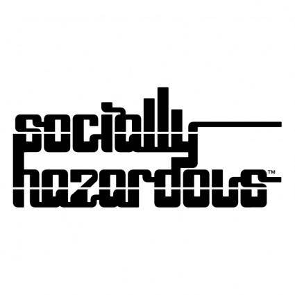 free vector Socially hazardous