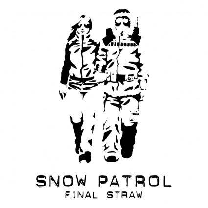free vector Snow patrol final straw