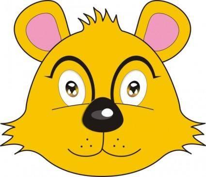 free vector Vector fox bear avatar