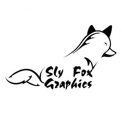 free vector Sly fox graphics