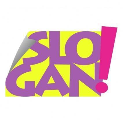 free vector Slogan design