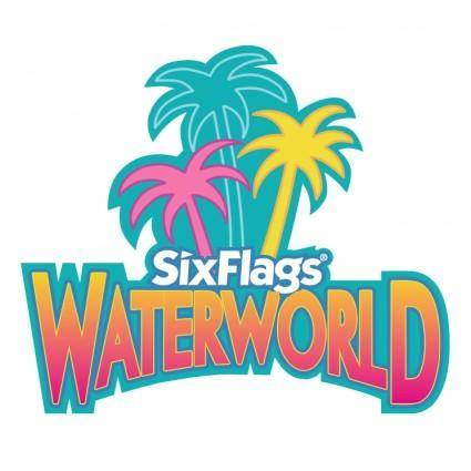 free vector Six flags waterworld