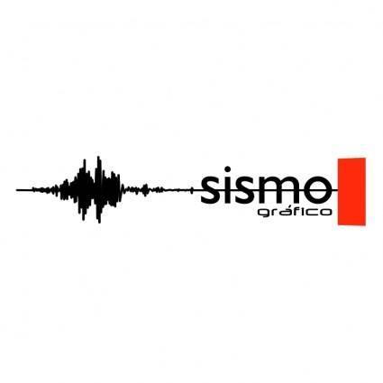 free vector Sismo grafico