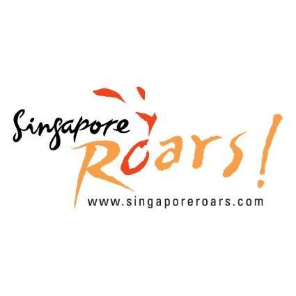 Singapore roars