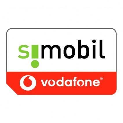 free vector Simobil vodafone