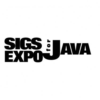 Sigs expo for java