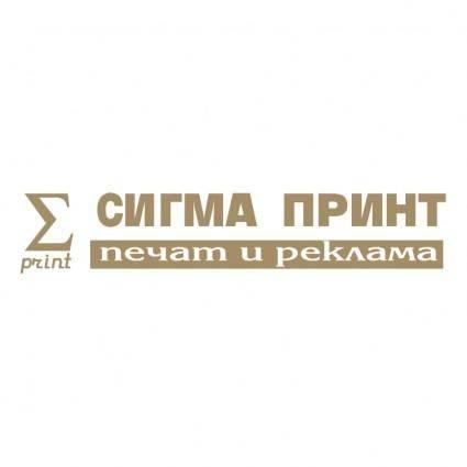 Sigma print