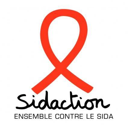 free vector Sidaction