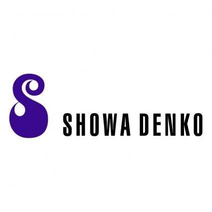 free vector Showa denko