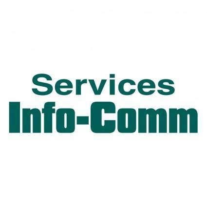 free vector Services info comm