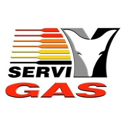 free vector Servi gas