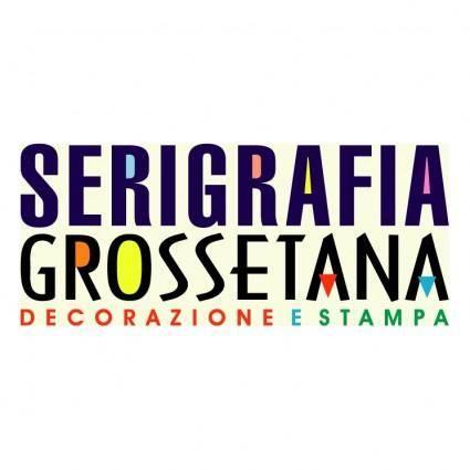 free vector Serigrafia grossetana