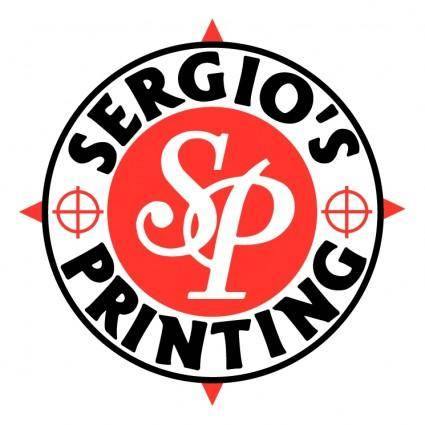 free vector Sergios printing