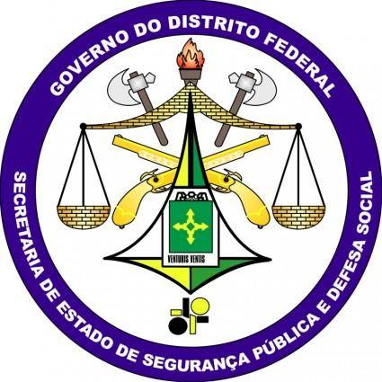 free vector Secretaria de estado de seguranca publica e defesa social