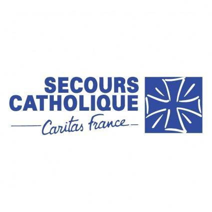 free vector Secours catholique 0