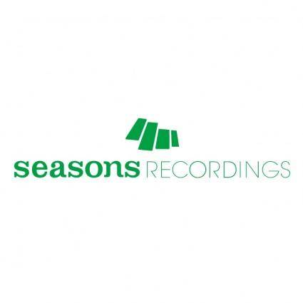 free vector Seasons recordings 0