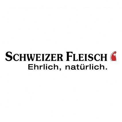 free vector Schweizer fleisch