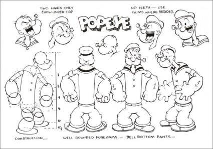 free vector Popeye official who set up vector a
