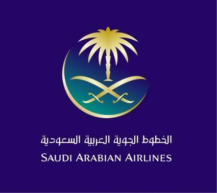free vector Saudi arabian airlines 1