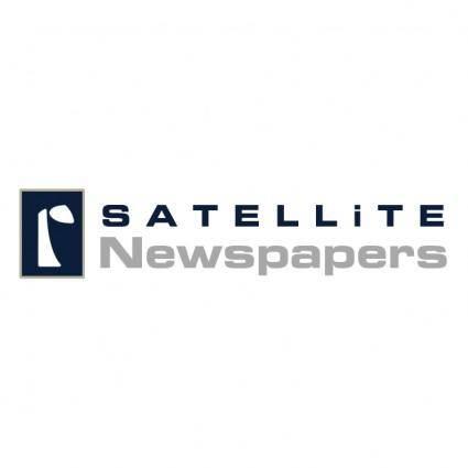 free vector Satellite newspapers