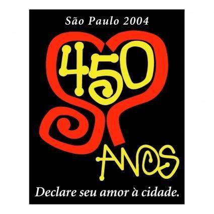 Sao paulo 450 anos