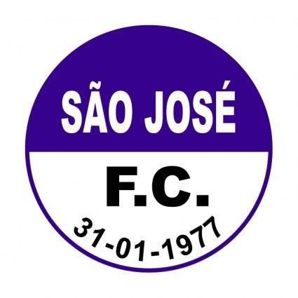 free vector Sao jose futebol clube de canela rs