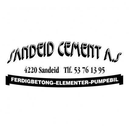 Sandeid cement as