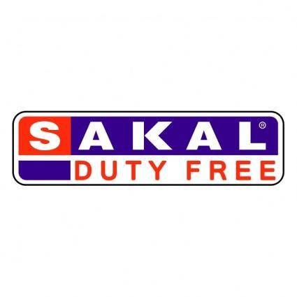 free vector Sakal duty free