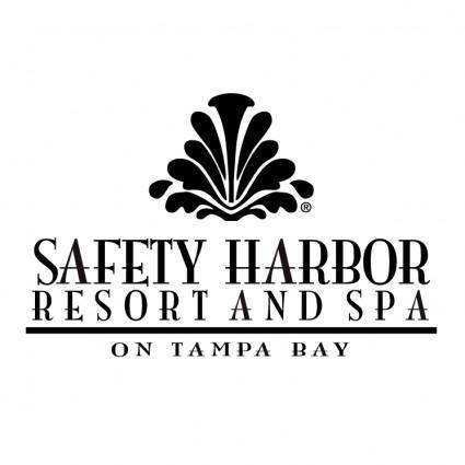 free vector Safety harbor resort spa