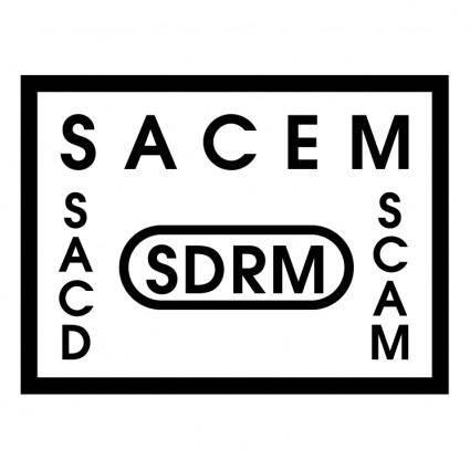 free vector Sacem sdrm sacd scam