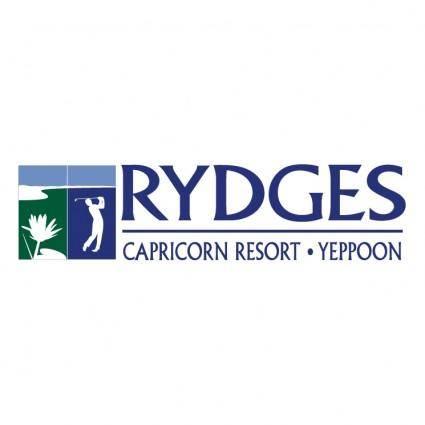 free vector Rydges capricorn resort