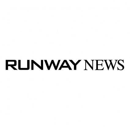 free vector Runway news 0