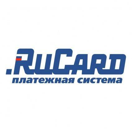 free vector Rucard payment system