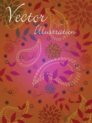 Natural vector illustration line draft 02 vector