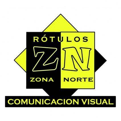 free vector Rotulos zona norte